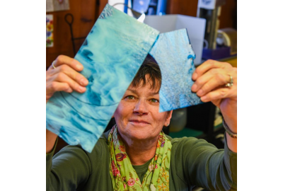 A class on fused glass in the Pine Creek Valley