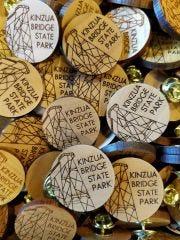 Wooden Skywalk Pin