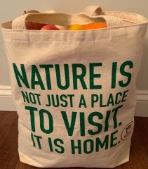PA Wilds Grocery Tote