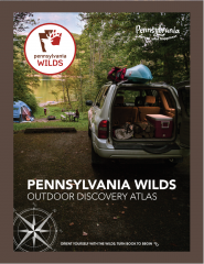 PA Wilds Outdoor Discovery Atlas front cover