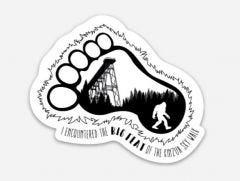 Big Feat Sticker
