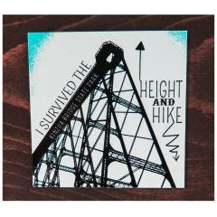 Height and Hike Magnet