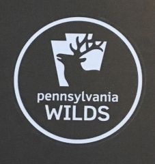 PA Wilds logo sticker