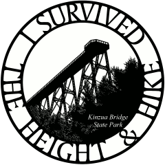 Round Height and Hike Sticker