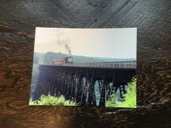 Northbound Train Eagle Eye Photography Post Card