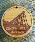 Engraved Wooden Skywalk Ornament