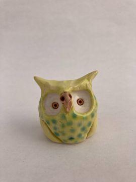 Bert Stoneware Owl