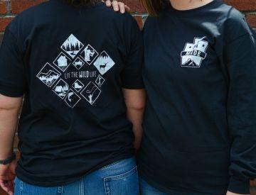 Live the Wild Life Cotton Shirt