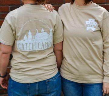 Catch me at Camp Cotton Shirt