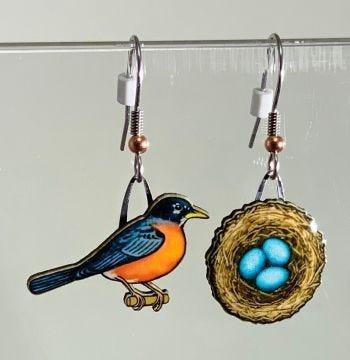 Robin & Nest Jabebo Earrings