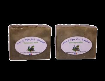 Eucalyptus Mint Soap, 4 oz