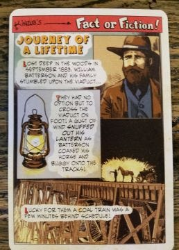 Fact or Fiction Post Cards - Journey of a Lifetime