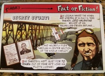 Fact or Fiction Post Cards - Odo Valentine