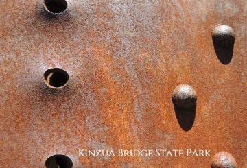 Debris Rust Post Card