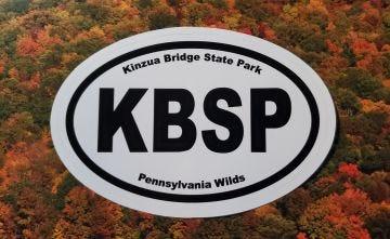 Oval KBSP/PA Wilds sticker
