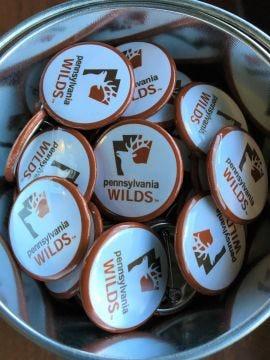 PA Wilds pin