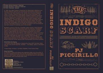 The Indigo Scarf