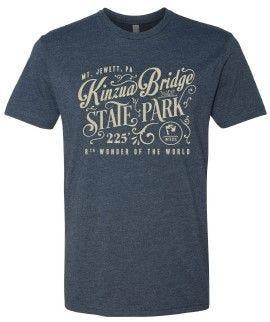 Adult Vintage Kinzua Bridge T-Shirt