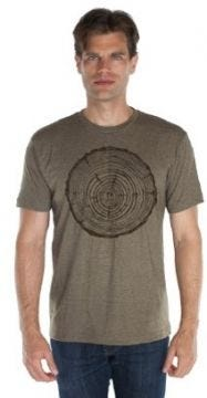 Wood Cut Adult Short Sleeve Shirt
