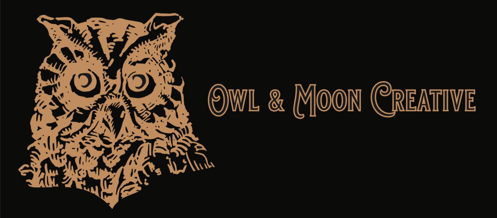 Owl and Moon Creative