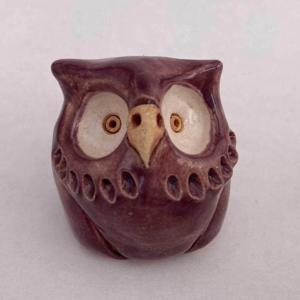 Petunia Stoneware Owl