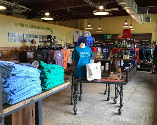 Kinzua Bridge State Park Gift Shop