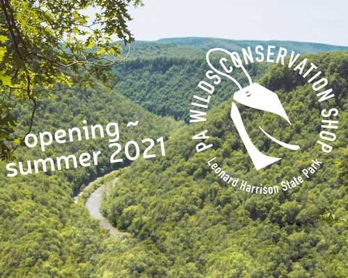 Leonard Harrison State Park Gift Shop Opening Soon