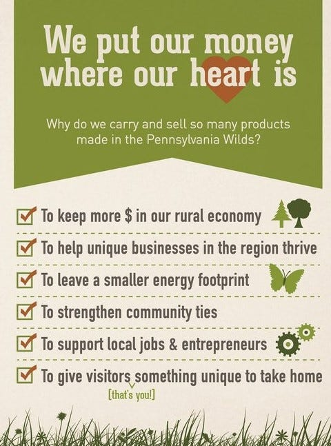 We put our money where our heart is infographic