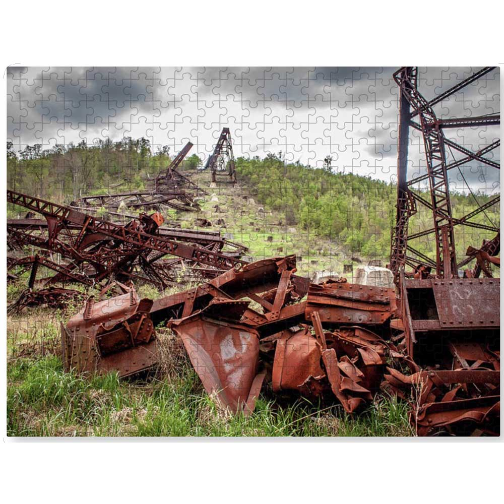 Kinzua Bridge 22 inch puzzle
