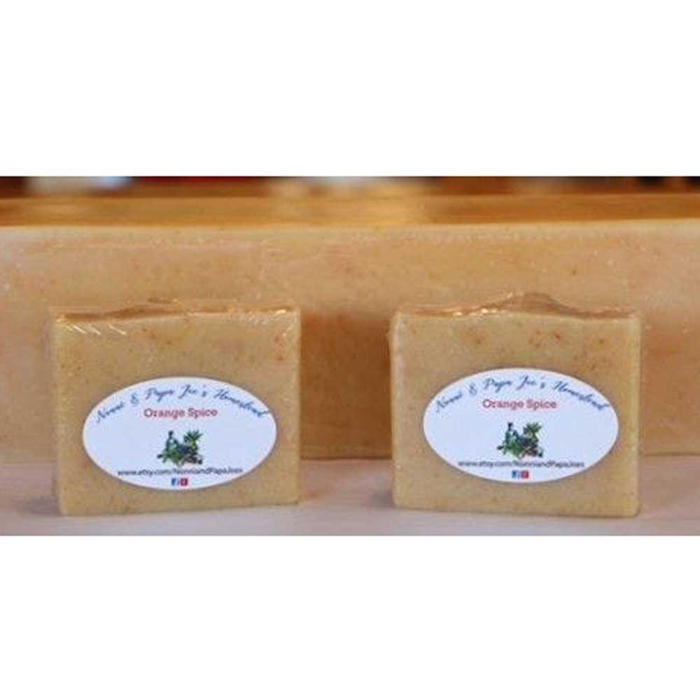 Orange Spice Handmade Soap